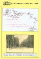 """BELGIQUE CP TRAMWAYS BRUXELLOIS """" AVENUE D'AUDERGHEM """" + DESCRIPTIF (DD) DC-1420 - Belgique"""