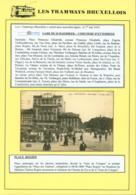 """BELGIQUE CP TRAMWAYS BRUXELLOIS """" PLACE ROGIER """" + DESCRIPTIF (DD) DC-1423 - Belgique"""