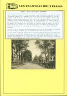 """BELGIQUE CP TRAMWAYS BRUXELLOIS """"PORTE DE LOUVAIN """" + DESCRIPTIF (DD) DC-1431 - Belgique"""