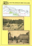 """BELGIQUE CP TRAMWAYS BRUXELLOIS """"PORTE DE NAMUR"""" + DESCRIPTIF (DD) DC-1432 - Belgium"""