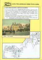 """BELGIQUE CP TRAMWAYS BRUXELLOIS """"PORTE DE SCHAERBEEK """" + DESCRIPTIF (DD) DC-1439 - Belgique"""