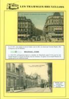 """BELGIQUE CP TRAMWAYS BRUXELLOIS SAINT-JOSSE-TEN-NOODE """" RUE DE LA LIMITE"""" + DESCRIPTIF (DD) DC-1441 - Belgique"""