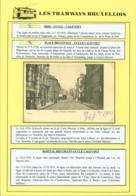 """BELGIQUE CP TRAMWAYS BRUXELLOIS """"CHAUSSEE D'ALSEMBERG"""" + DESCRIPTIF (DD) DC-1443 - Belgique"""