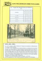 """BELGIQUE CP TRAMWAYS BRUXELLOIS """"BOULEVARD DU REGENT """" + DESCRIPTIF (DD) DC-1446 - Belgique"""