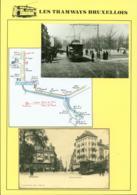 """BELGIQUE CP TRAMWAYS BRUXELLOIS """"PORTE DE LOUVAIN """" + DESCRIPTIF (DD) DC-1447 - Belgique"""