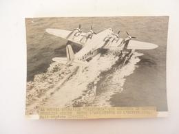 PHOTO LE NOUVEL HYDRAVION CALEDONIA - Flugwesen