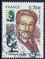 Yt 5043 Edmond Locard-microscope-joli Cachet Rond - France