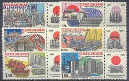 Czechoslovakia 1975 Mi 2285-2290 MNH ( ZE4 CSKzf2285-2290 ) - Factories & Industries