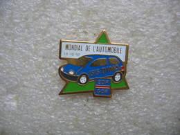 Pin's EDF-GDF Au Mondial De L'automobile Le 14-10-92. ISIS.DIMA - Badges