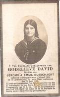 DP. GODELIEVE DAVID ° HOOGLEDE 1909 -+ 1927 - Religion & Esotérisme