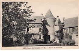 Bourg-des-Comptes (35) - Manoir De La Réauté. - Francia
