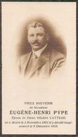 DP. EUGENE PYPE ° MENIN 1881 -+ 1925 - Religion & Esotérisme