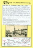"""BELGIQUE CP TRAMWAYS BRUXELLOIS """"EGLISE SAINTE-BARBE """" + DESCRIPTIF (DD) DC-1434 - Belgium"""