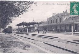 ANNEMASSE, INTERIEUR  LA GARE - Annemasse