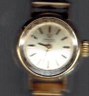 Ancienne Montre Dame Omega Automatic De Ville (Swiss Made) Avec Bracelet - A Réparer, Ne Fonctionne Plus - Montres Modernes