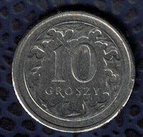 Pologne 2015 Pièce De Monnaie Coin 10 Groszy Armoiries Blason Aigle SU - Pologne