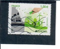 Yt 5046 EUROPA 2016 Velo-eolienne-main - France