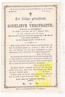 DP Godelieve Verstraete ° Rumbeke Roeselare 1820 † 1879 - Images Religieuses
