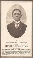 DP. MICHEL CORNETTE ° ST JOZEF-HOOGLEDE 1904 - + ROESELARE 1928 - Religion & Esotérisme