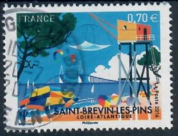 Yt 5047 St Brevin Les Pins Joli Cachet Rond - Used Stamps