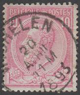 COB N° 46 - Belle Oblitération - WICHELEN - 1884-1891 Leopold II.