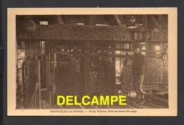 DD / MÉTIERS / MINES / 71 MONTCEAU-LES-MINES / PUITS PLICHON . UNE DESCENTE DE CAGE / ANIMÉE - Mines