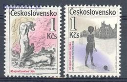 Czechoslovakia 1987 Mi 2916-2917 MNH ( ZE4 CSK2916-2917 ) - Tsjechoslowakije