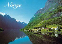 1 AK Norwegen * Der Nærøyfjord - Ein Nebenarm Des Sognefjords - Seit 2005 UNESCO Weltnaturerbe * - Norwegen