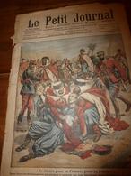 1908 LE PETIT JOURNAL:Héroïque Maréchal Des Logis Ben-Daoud à Anoual;Histoire D'un Honnête Voleur Avec Mr Marsolié; Etc - Journaux - Quotidiens
