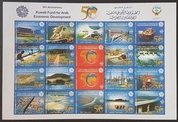 DE22 - KUWAIT 2011 Block S/S Sheet MNH - 50th Anniv. Kuwait Fund For Arab Economic Development - Koweït