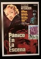 CARTOLINA PAURA IN PALCOSCENICO - Cinemania