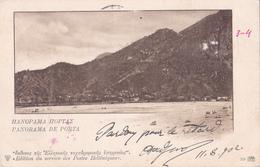 Entier Postal Stationery - Grèce - 1902 - Panorama De Porta - Enteros Postales