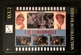 CARTE TELEFONICHE PREPAGATE FILM DI TOTO' I 2 COLONNELLI - Cinema