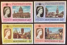 Montserrat 1978 Coronation Anniversary MNH - Montserrat
