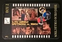CARTE TELEFONICHE PREPAGATE FILM DI TOTO' - Cinema