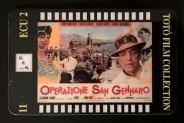 CARTE TELEFONICHE PREPAGATE FILM DI TOTO' OPERAZIONE SAN GENNARO - Cinema