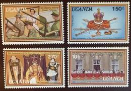 Uganda 1978 Coronation Anniversary MNH - Uganda (1962-...)