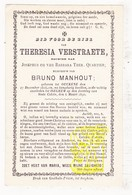 DP M Dicht Gezelle Bij Leven - Theresia Verstraete / Quartier ° Oekene Roeselare 1816 † Izegem 1890 X Bruno Manhout - Images Religieuses
