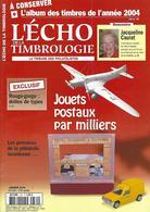 L'ECHO DE LA TIMBROLOGIE N° 1781 + SOMMAIRE - French