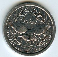 Nouvelle Calédonie New Caledonia 1 Franc 2002 KM 10 - Nouvelle-Calédonie