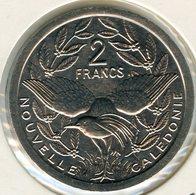 Nouvelle Calédonie New Caledonia 2 Francs 1990 KM 14 - Nouvelle-Calédonie