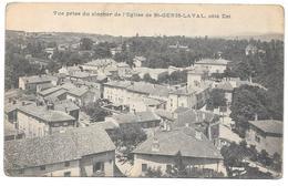 69 - Vue Prise Du Clocher De L'Eglise De St GENIS LAVAL, Côté Est - Other Municipalities