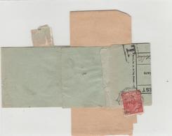 Document SNCF Presse Femme Fachi Avec Timbre Taxe - Marcophilie (Lettres)
