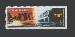DJIBOUTI  MICHEL Mi. 812 Centenaire Centenary 100 Ans Years Banque Indosuez Mer-Rouge BIS 2007 2008 MNH ** RARE - Djibouti (1977-...)