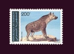 DJIBOUTI  Hyene Tachetée Hyena Yvert YT 719CB Michel Mi 614 1993 1995 MNH ** RARE - Félins