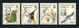 GEORGIE DU SUD (FALKLAND) 1985  N° 149/152 **  Neufs MNH Superbes C 13 € Oiseaux, Birds Flore D'Urville Fleurs - Géorgie Du Sud