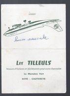 Cauterets (65 Hautes Pyrénées) (aviation) Calendrier 1974 LES TILLEULS  Maison D'enfants (PPP16743) - Calendars