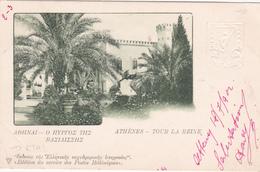 Entier Postal Stationery - Grèce - 1902 - Athènes - Tour La Reine - Etat Moyen Voir Scans - Postal Stationery