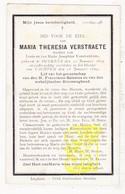 DP Maria Th. Verstraete / VanSteenkiste ° Oekene Roeselare 1819 † Klooster Kachtem Izegem 1899 - Images Religieuses