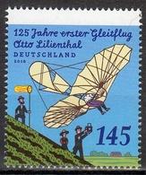 Bund MiNr. 3254 ** 125. Jahrestag Des Ersten Gleitschrimfluges Durch Lilienthal - Nuovi